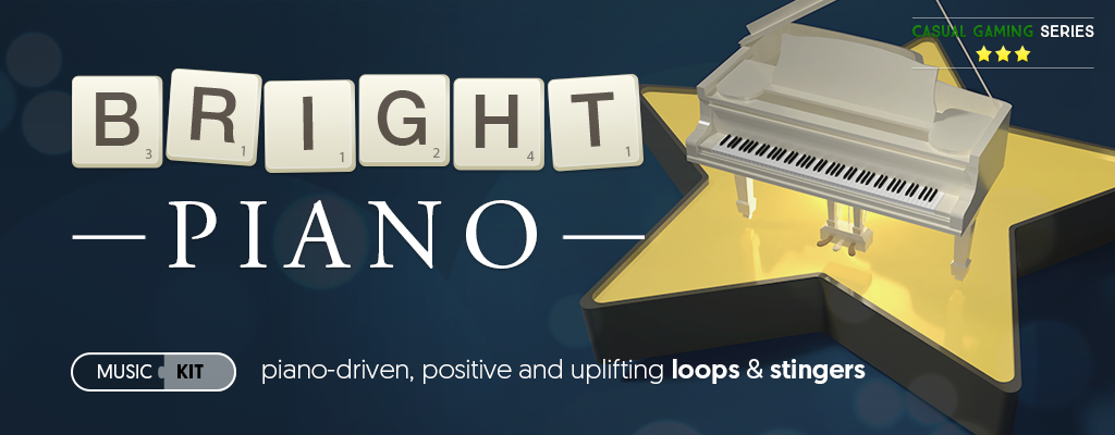 Bright Piano - casual games music kit