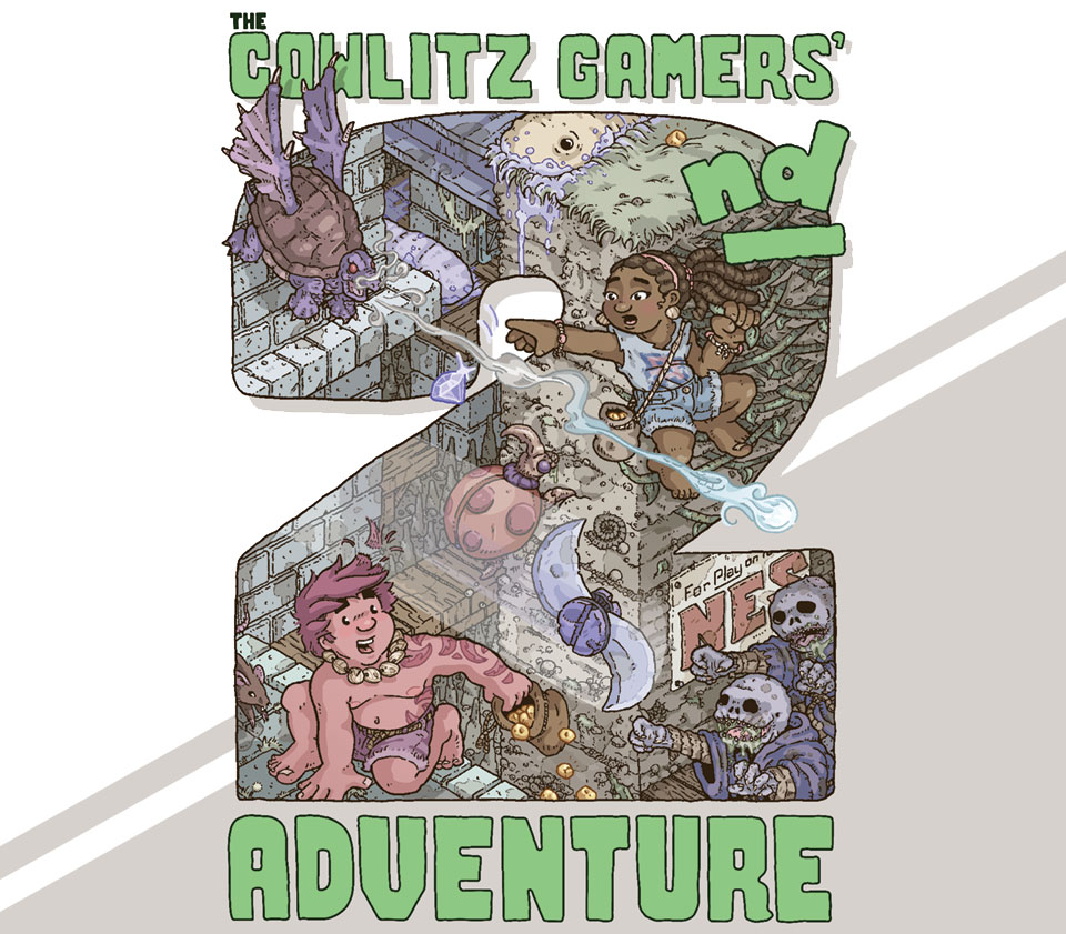 The Cowlitz Gamers' 2nd Adventure