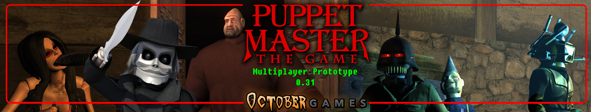 Puppet Master: The Game (Multiplayer Prototype)