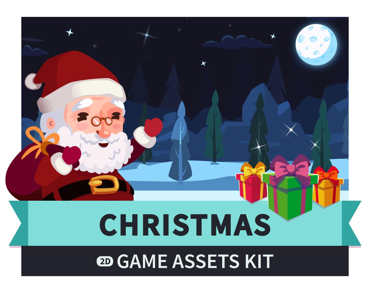 Christmas Game Assets Kit