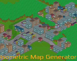 Isometric Map Generator by Yellow Hat Games for PROCJAM