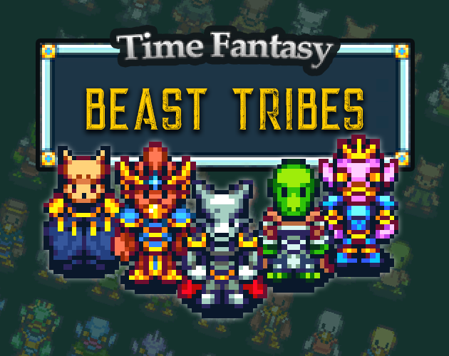Time Fantasy: Beast Tribes by finalbossblues