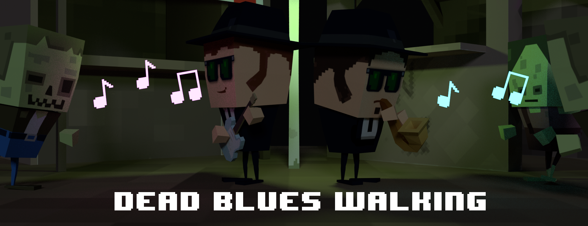 Dead Blues Walking