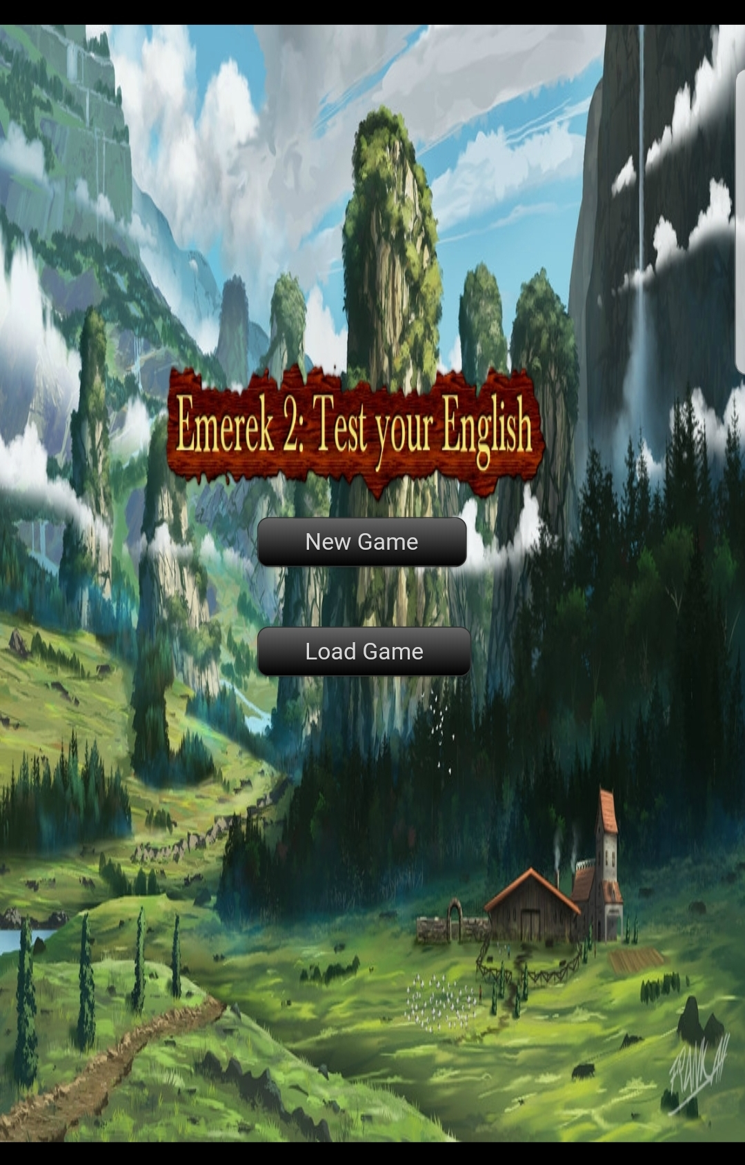 Emerek 2 : Test your English (game) - Release Announcements