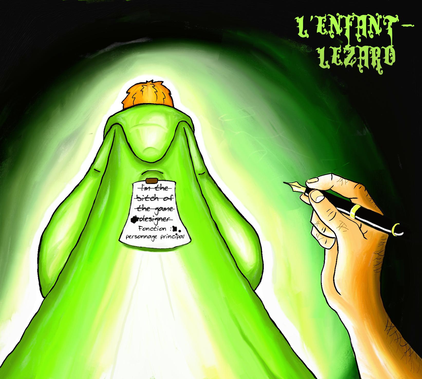L'Enfant-Lézard : l'étrange quête d'un personnage secondaire