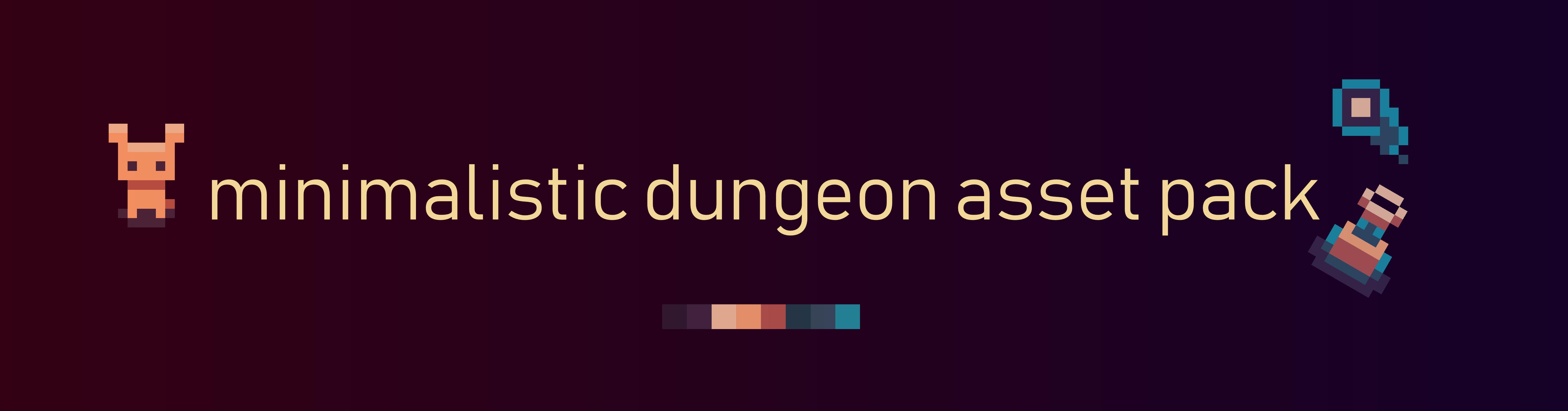 Minimalistic Dungeon Assetset