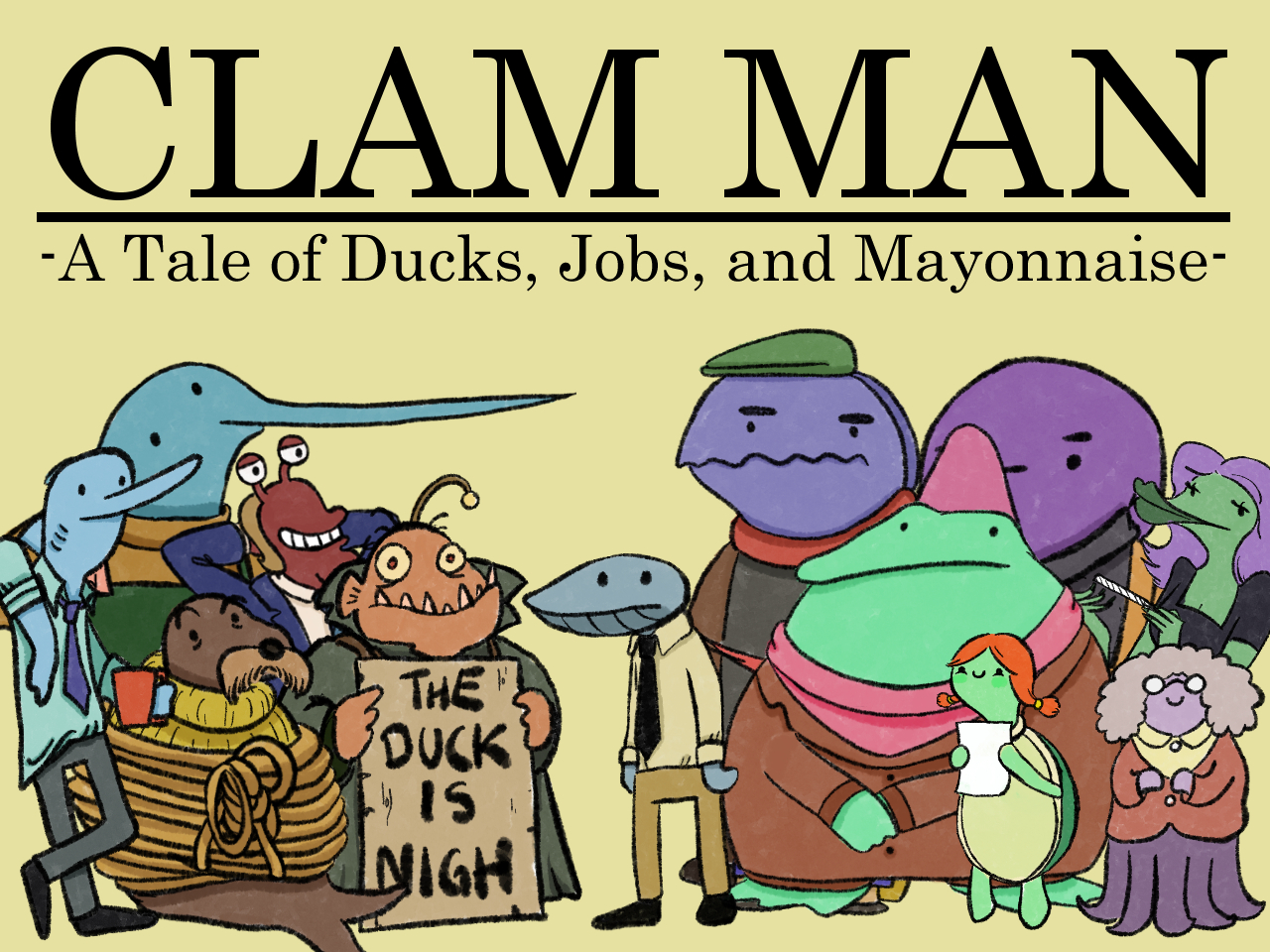 Clam Man Demo Edition (Full game out now!)