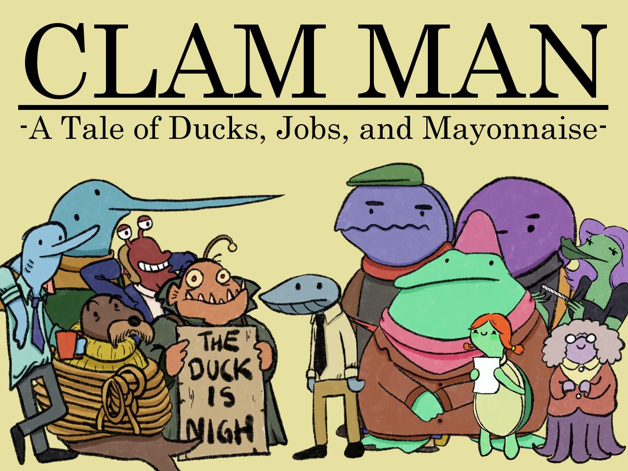 Clam Man Demo IndieGoGo Edition!