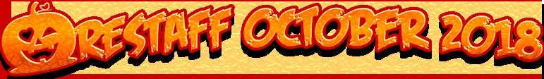 SCAReStaff October 2018