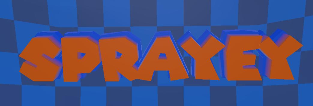 Sprayey