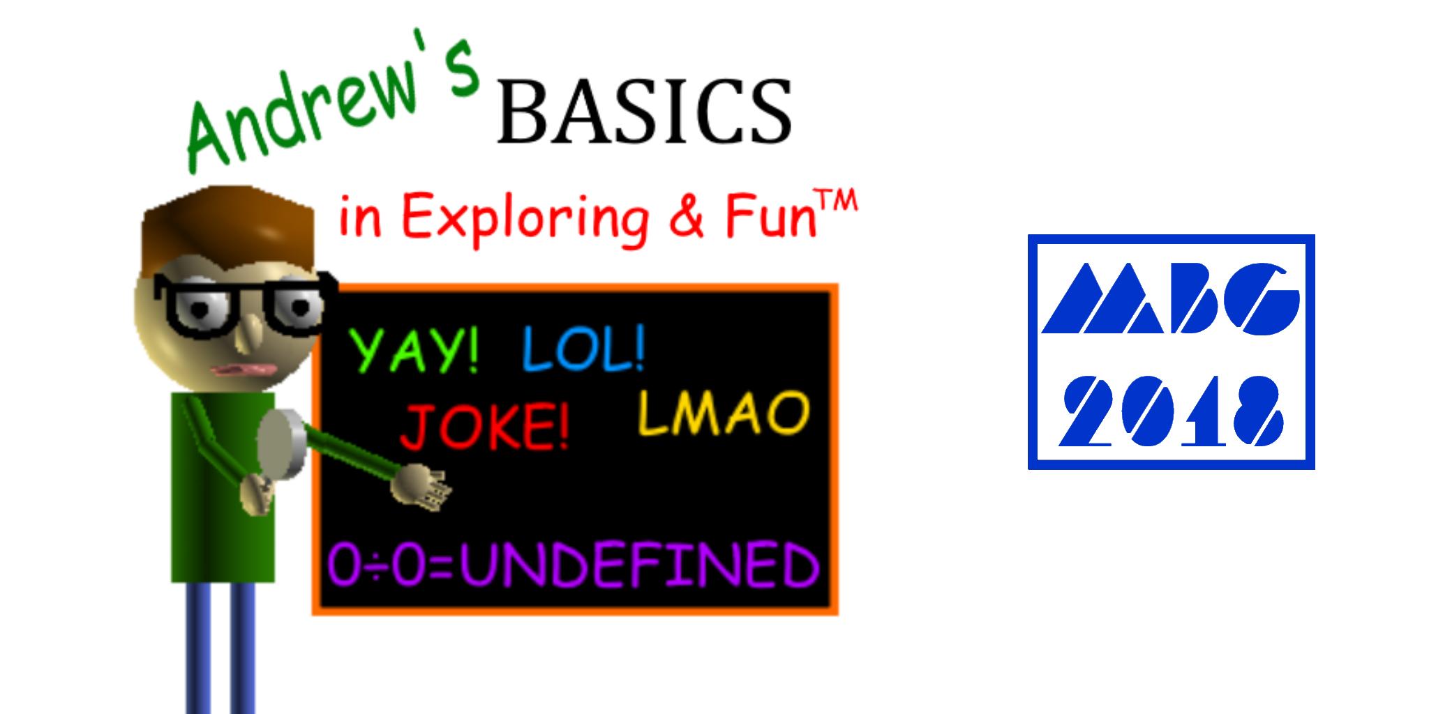 Andrew's Basics (Baldi's Basics 1.3.1 mod)