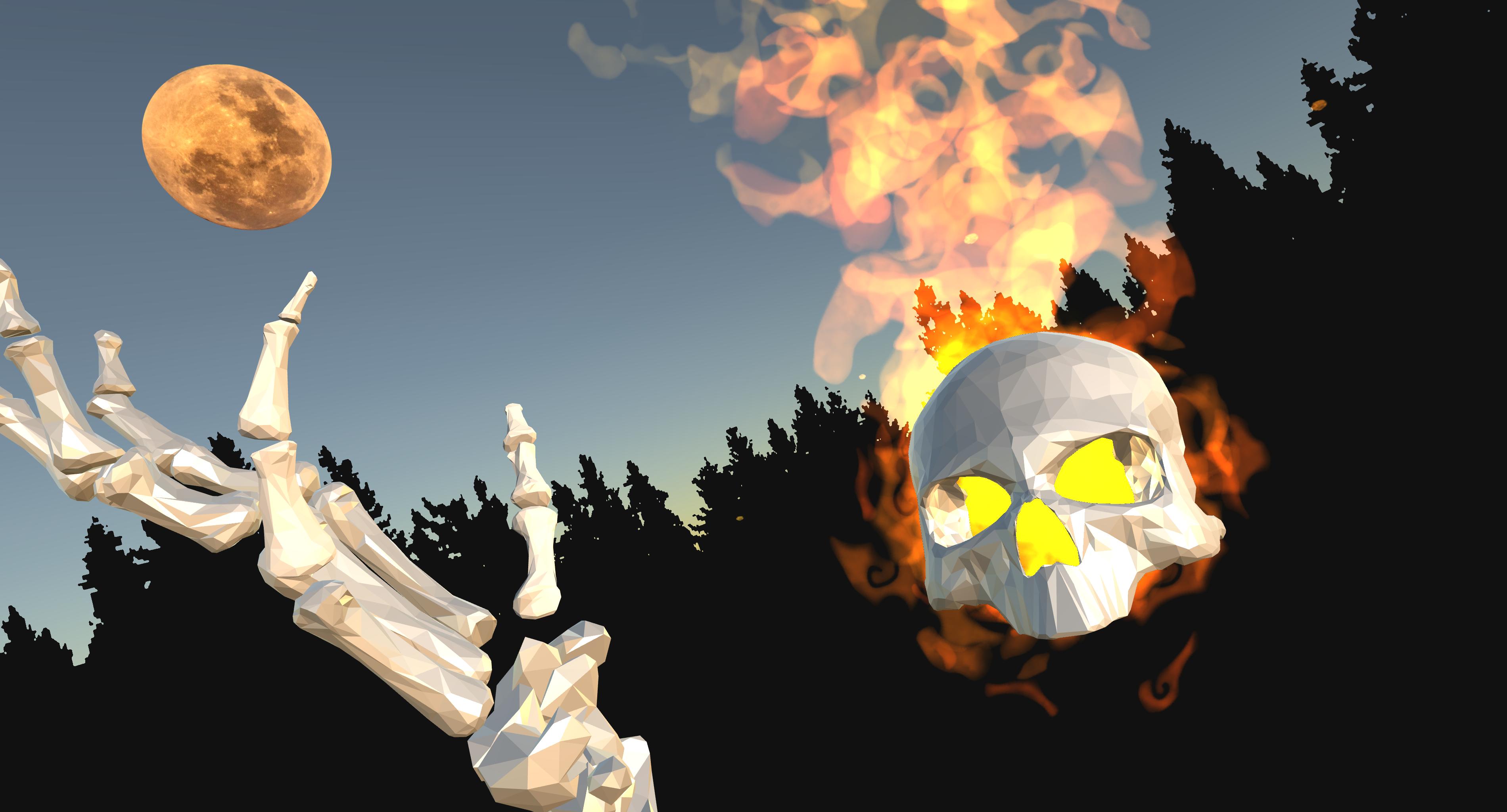 Spooky VR Selfie