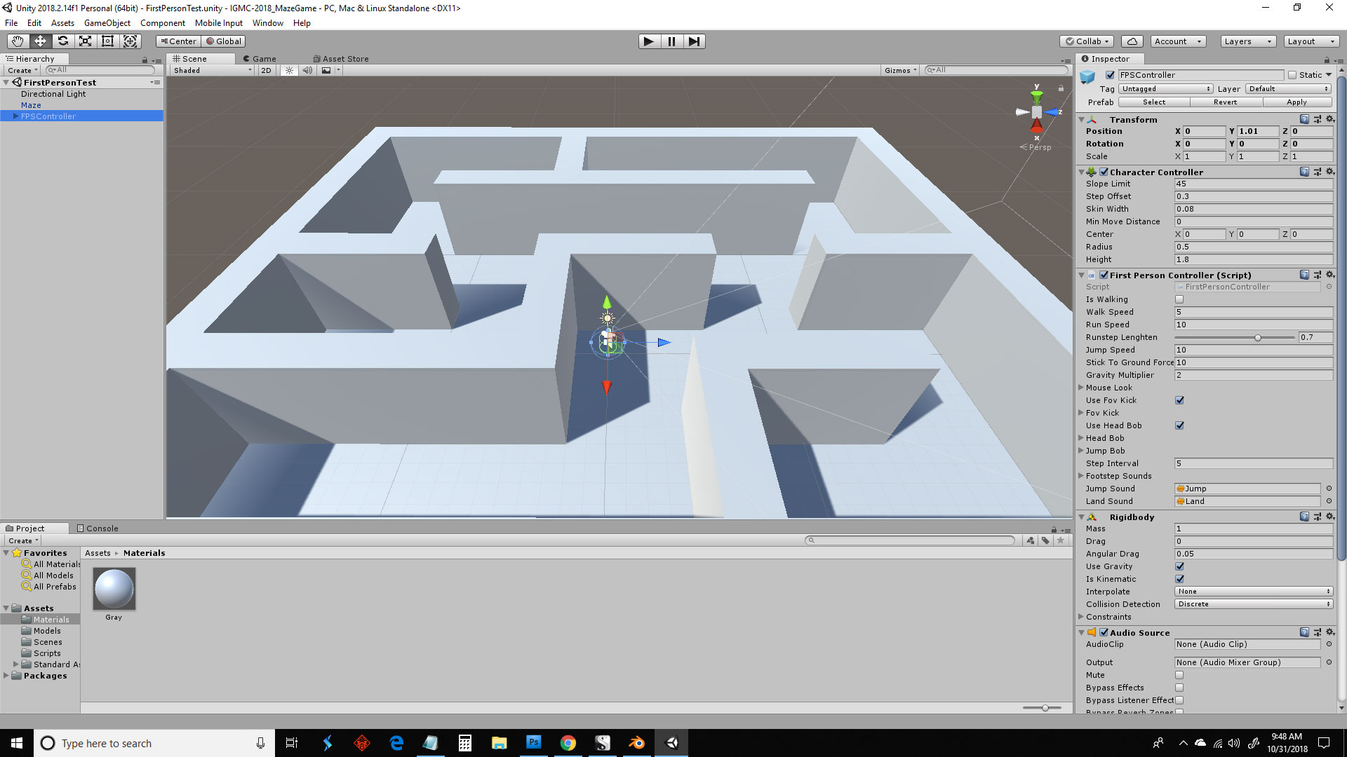 Project Maze Game: 3D Action-Adventure - Project Threads