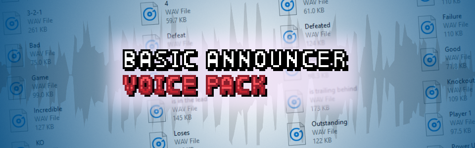 Basic Announcer Voice Pack