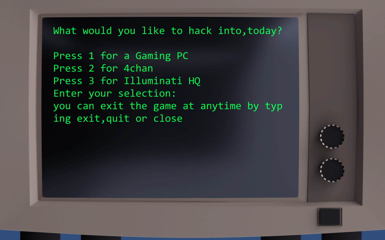 Terminal Hack Meme