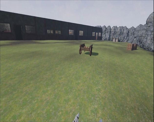 Pirate Themed Fort Lytton Virtual Environment