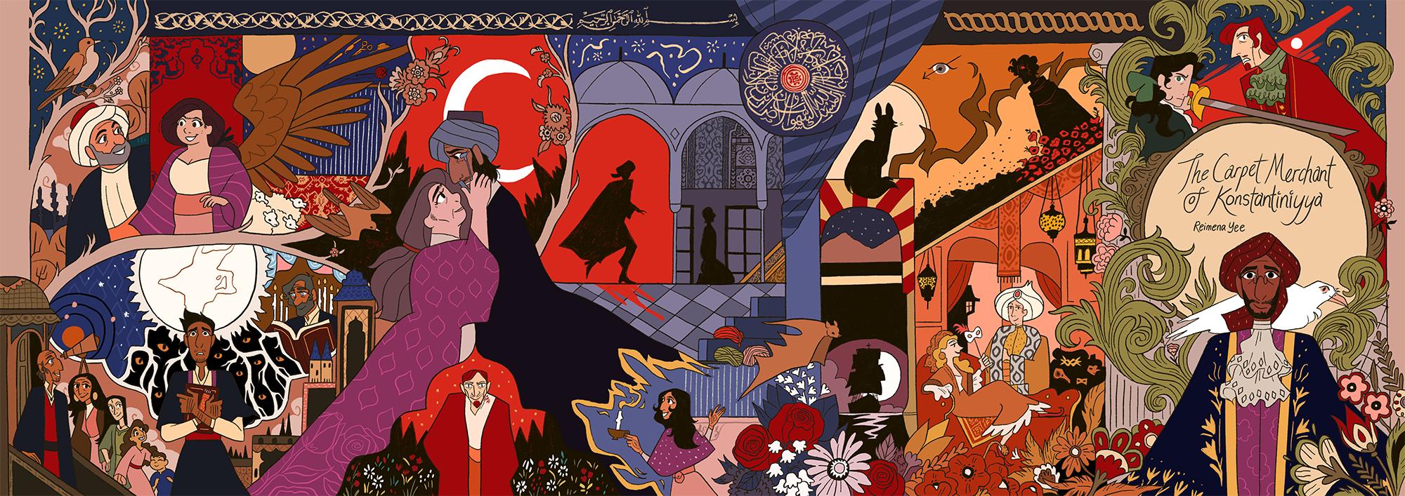 The Carpet Merchant of Konstantiniyya: Vol II 1st Ed