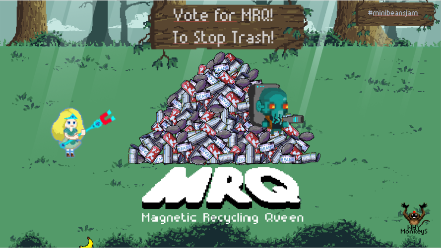 Magnetic Recycling Queen
