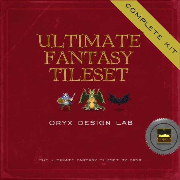 Ultimate Fantasy Tileset