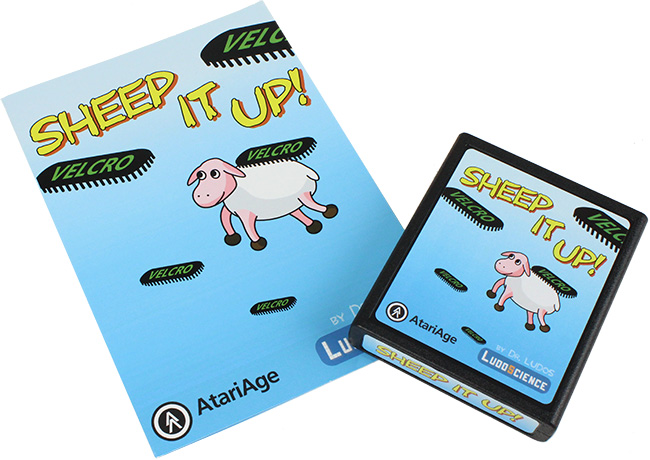 Sheep It Up! for Atari 2600