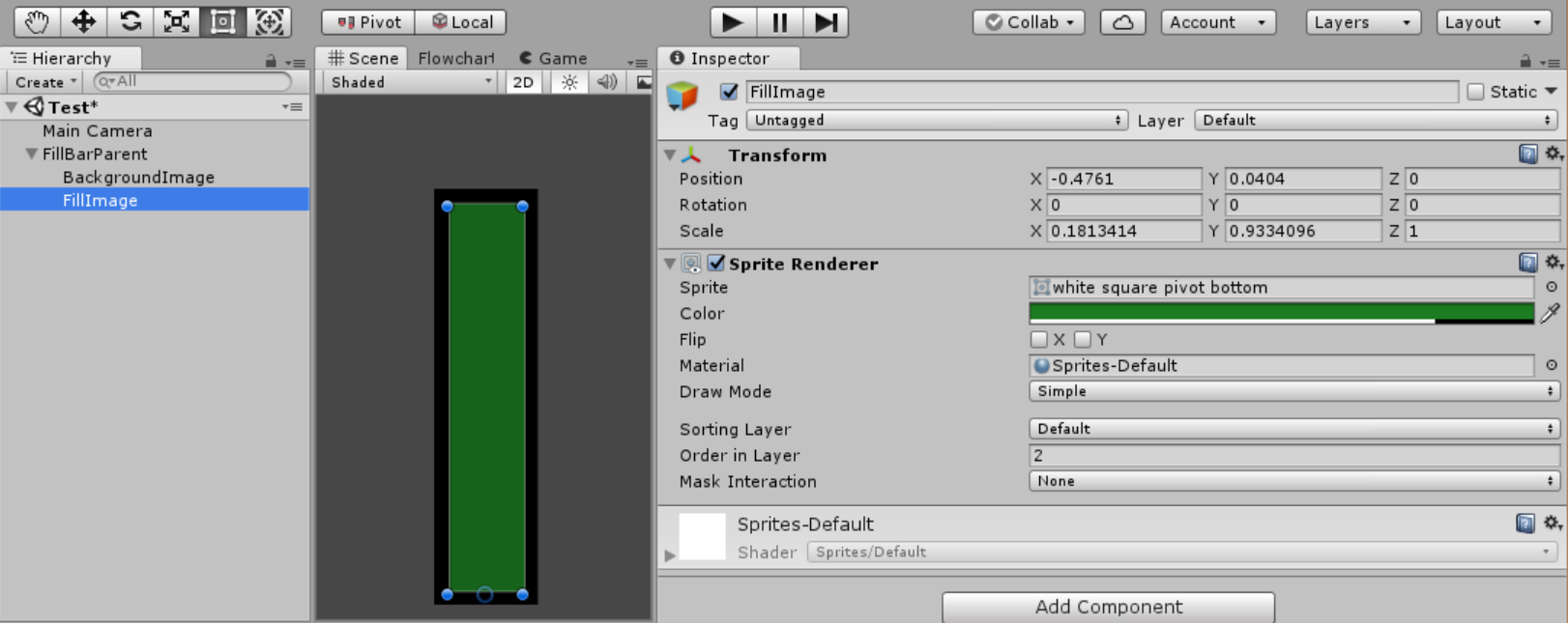 Creating a Fill Effect with Sprites in Unity - Hungry Ghost by