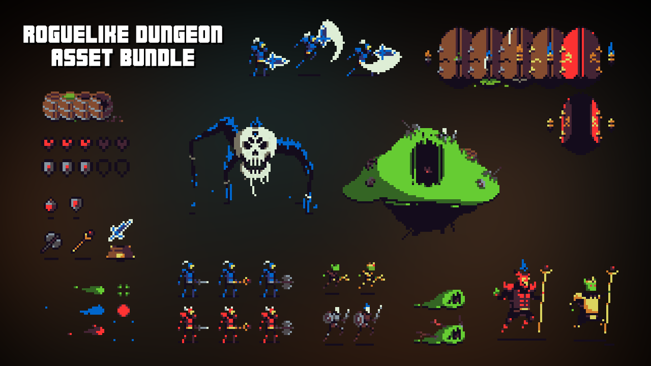 Roguelike Dungeon - Asset Bundle