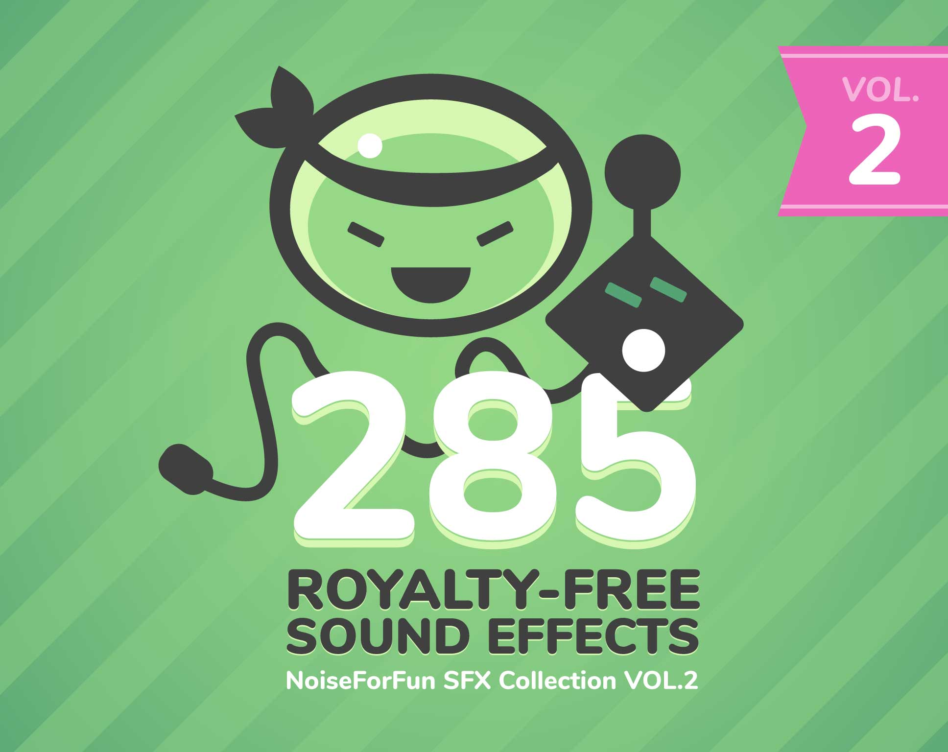 285 Game Sound Effects Vol.2