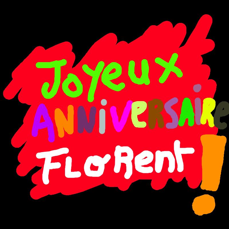 Joyeux Anniversaire Florent, THE GAME