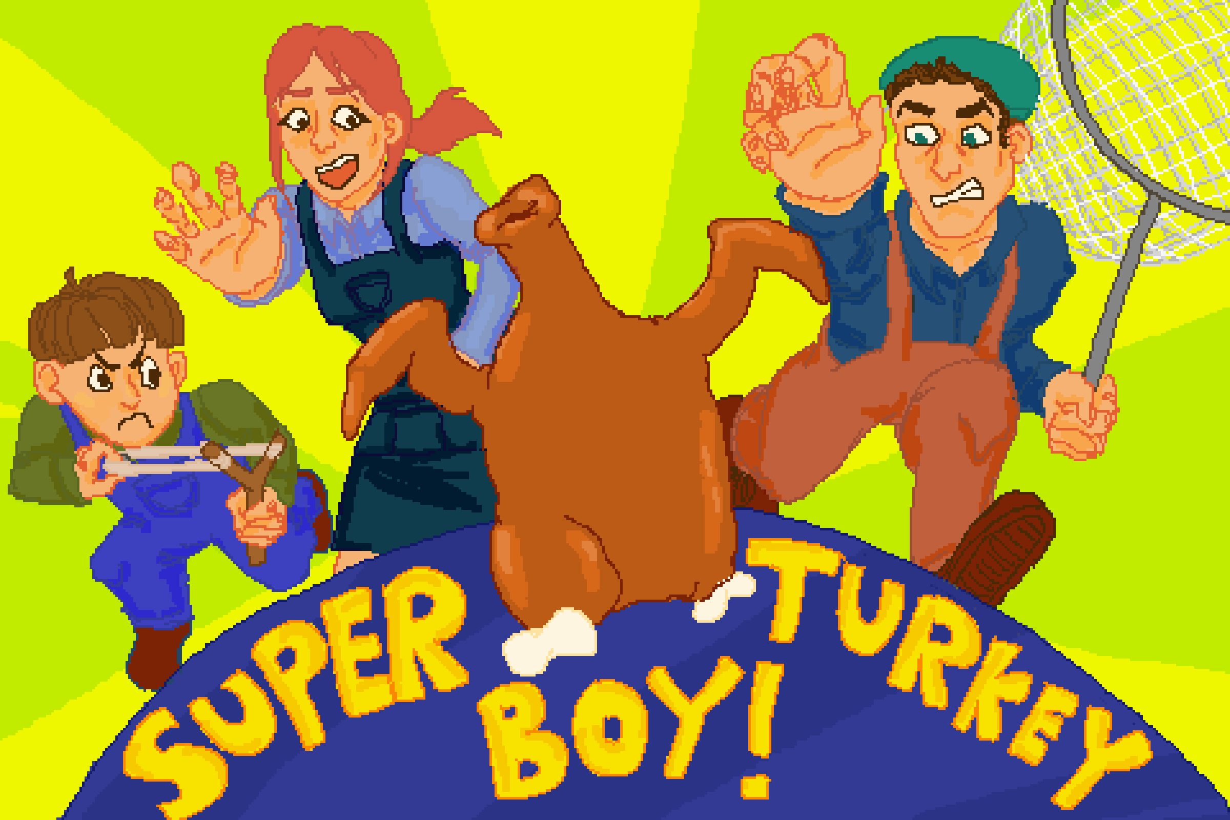SUPER TURKEY BOY