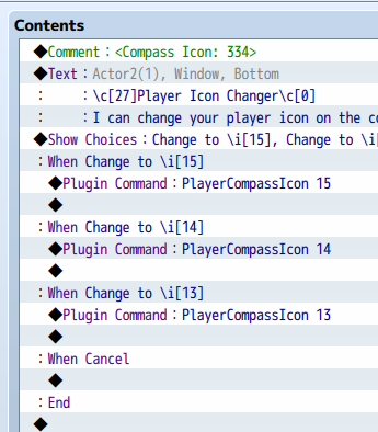 Proximity Compass plugin for RPG Maker MV by Olivia