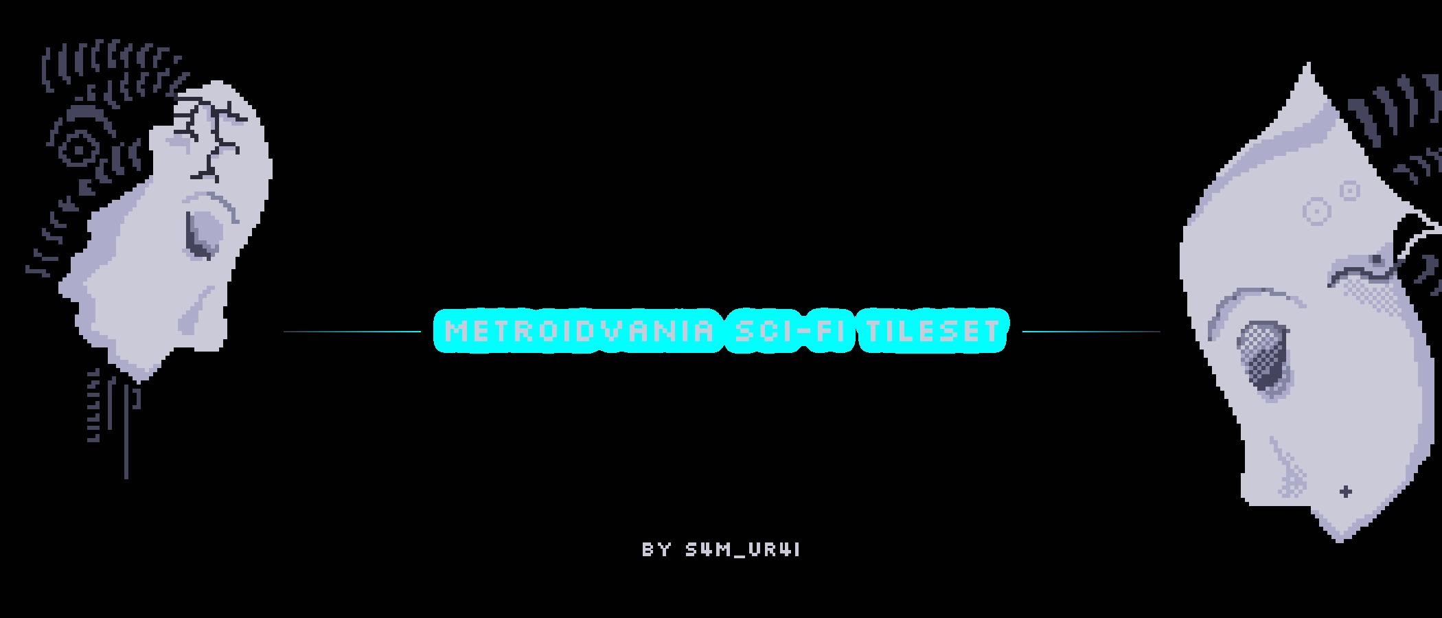 metroid / sci-fi tec-tileset 16x16