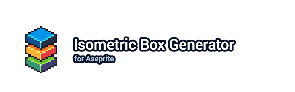 Isometric Box Generator for Aseprite