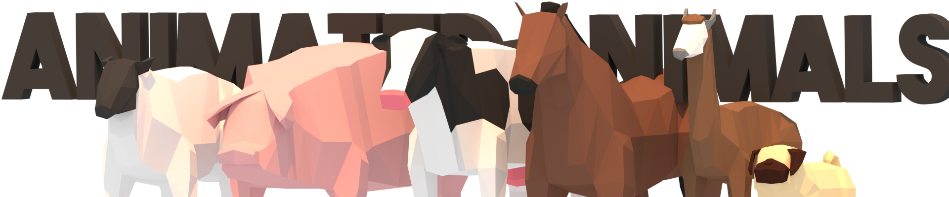 LowPoly Animated Animals