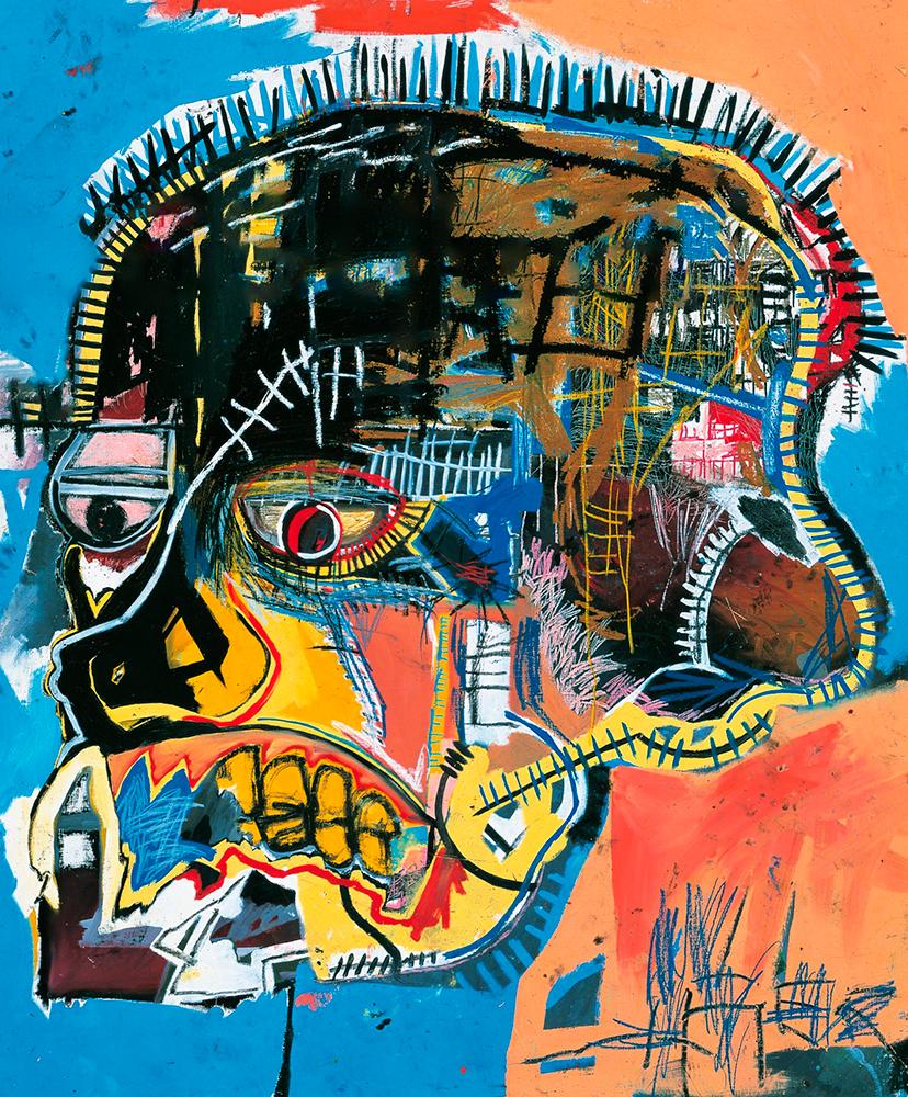 Jean-Michel Basquiat - Untitled (Skull), 1981 by Art Unfrozen
