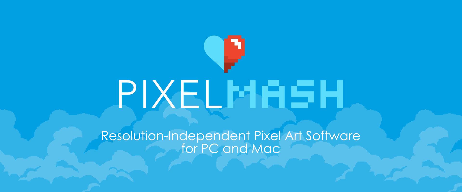 Pixelmash - Resolution-Independent Pixel Art
