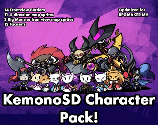 KemonoSD Character Pack!