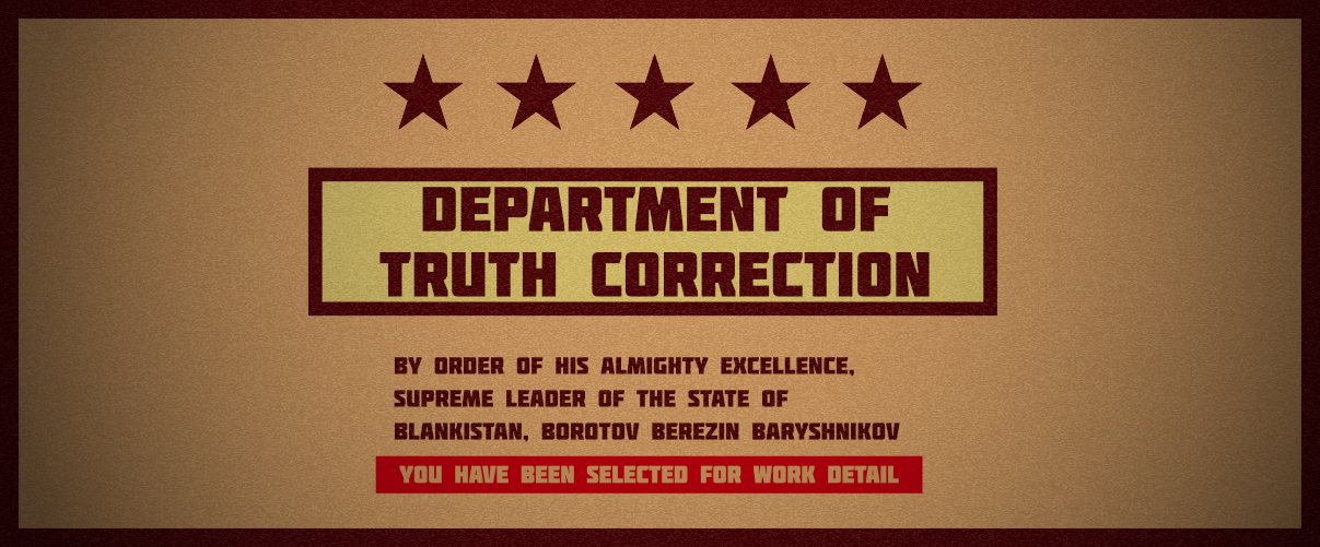 Department Of Truth Correction