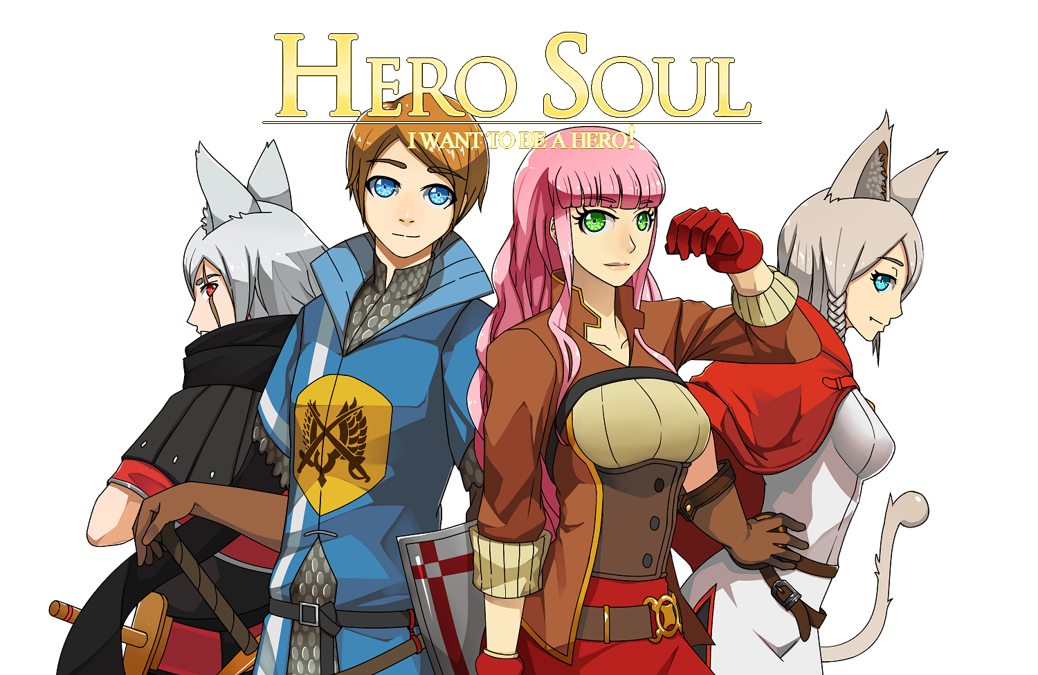 Hero Soul: I want to be a Hero! (Demo)