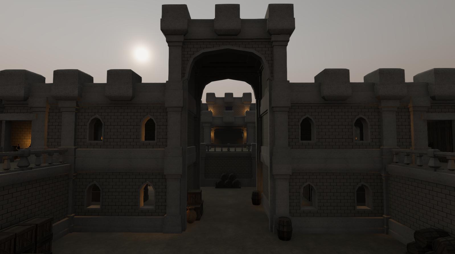 Modular Castle Dungeon