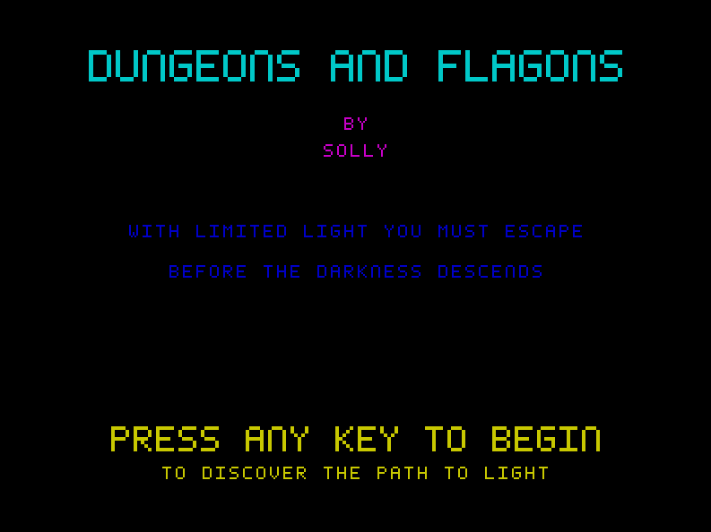 Dungeons and Flagons