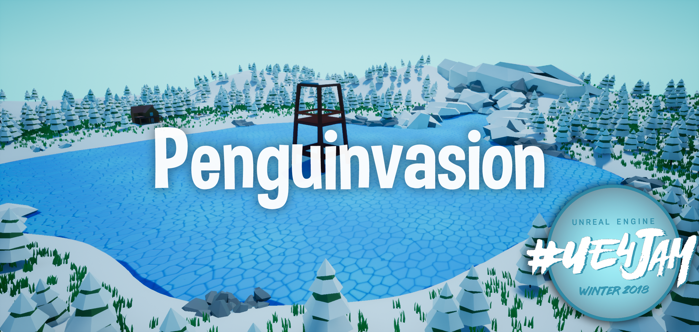 #UE4Jam Winter 18 - PenguInvasion