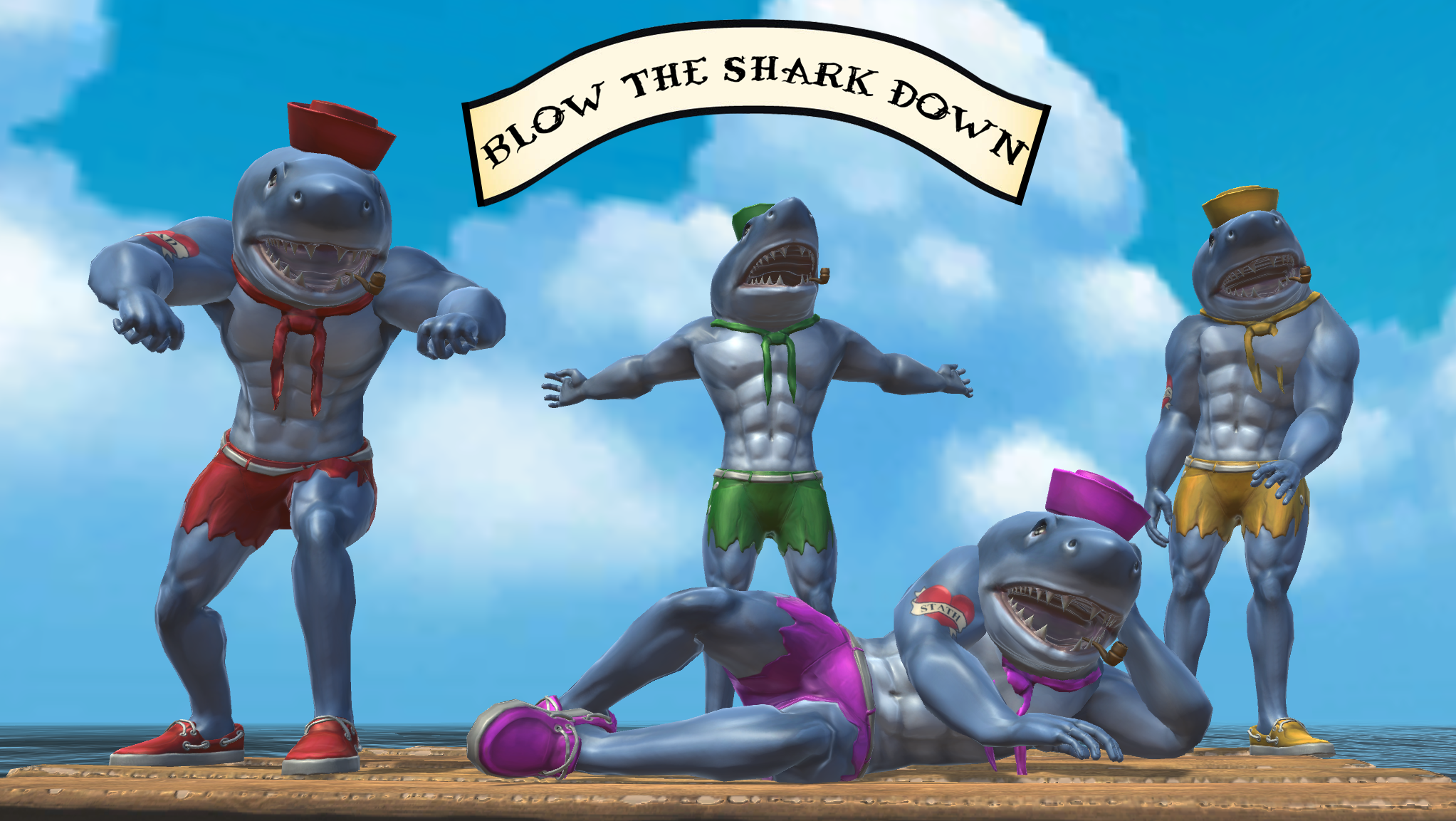 Blow The Shark Down