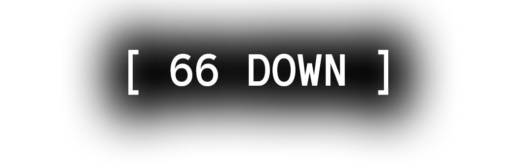 [ 66 DOWN ]