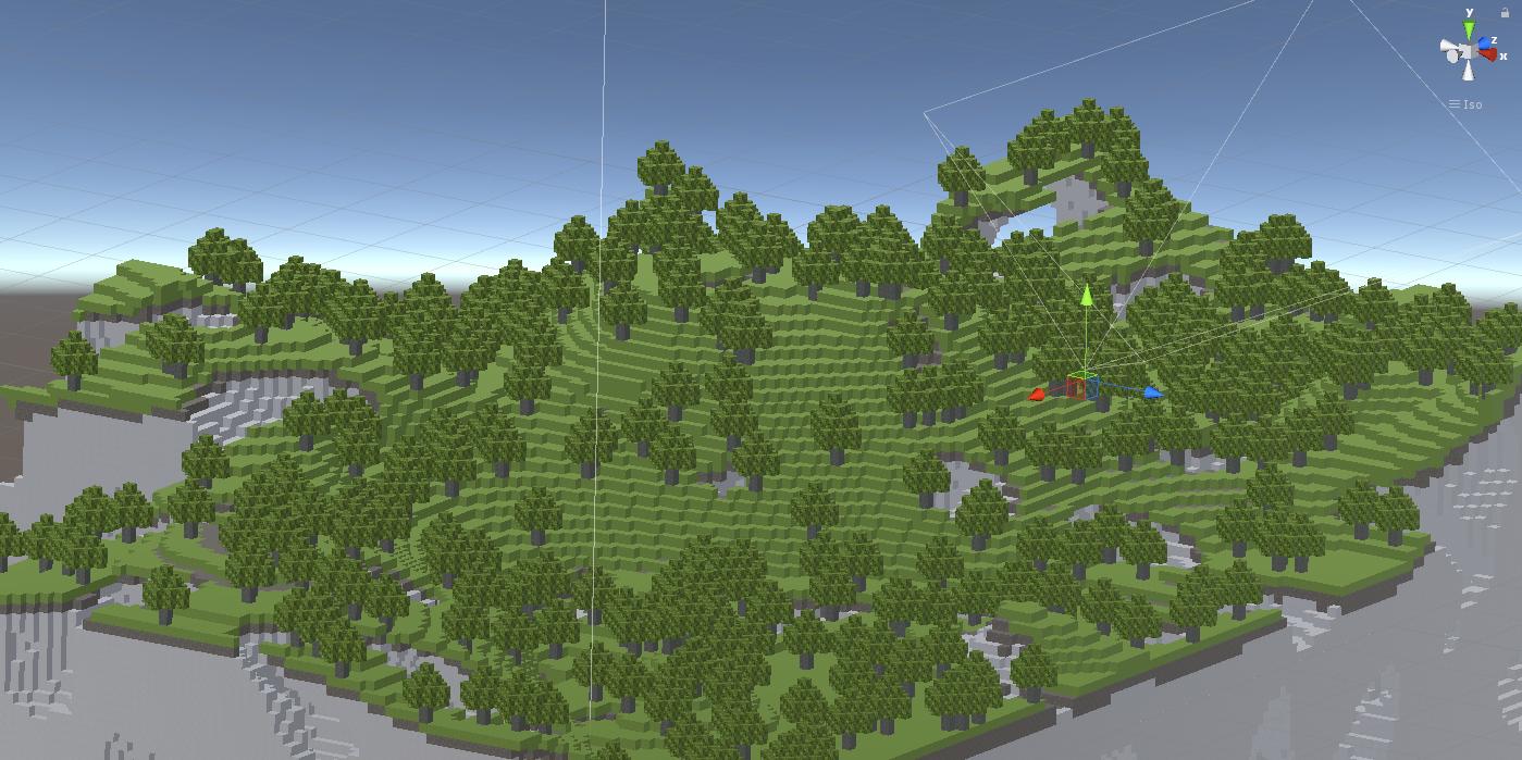 Unity Tree Generator