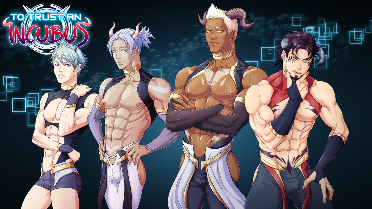 To Trust an Incubus - Full Game! Bara Yaoi BL Visual Novel