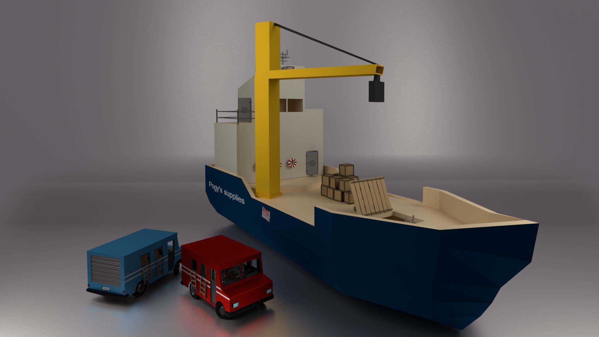 New ship model