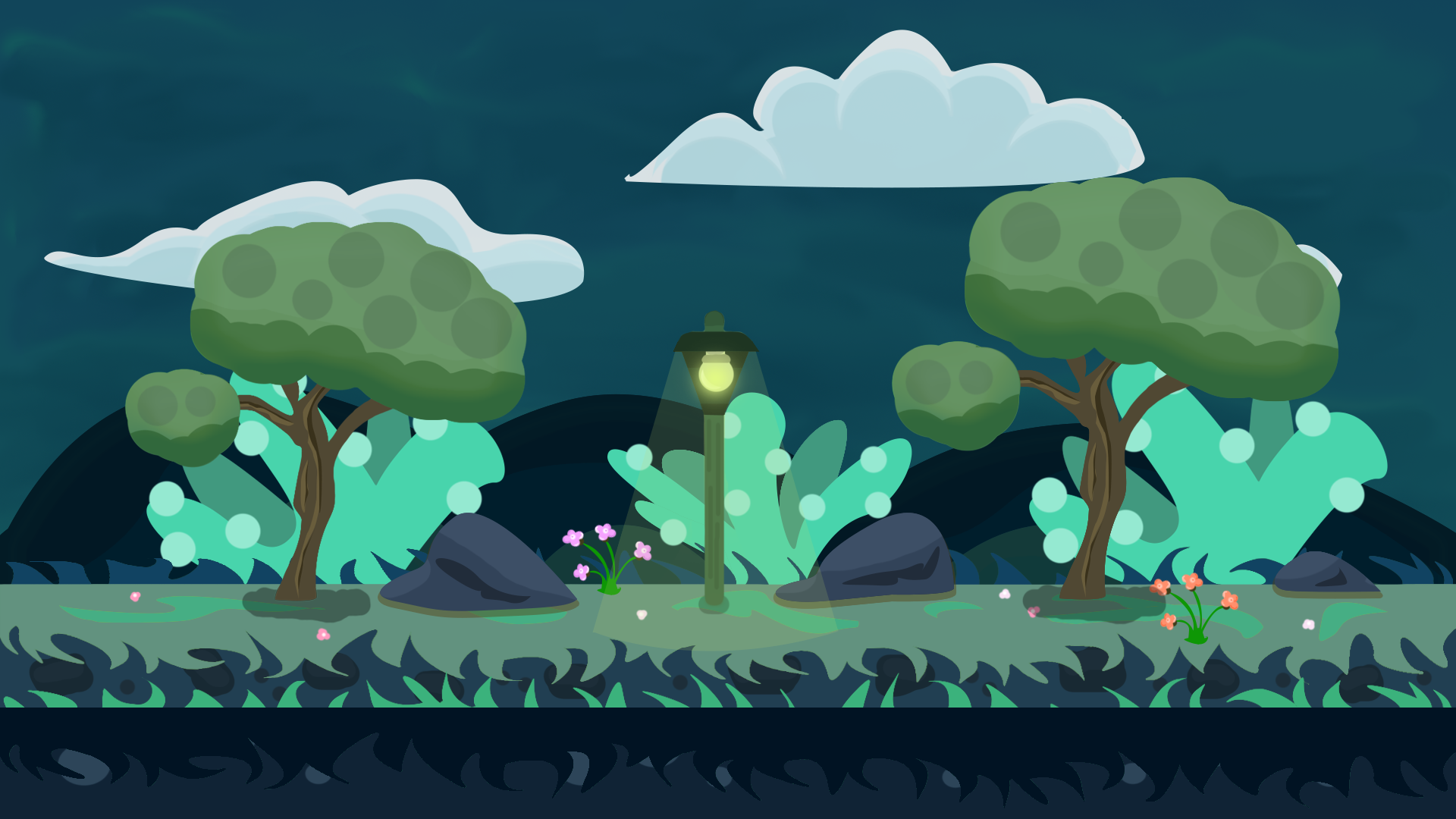 FREE  VECTOR  Game BACKGROUND