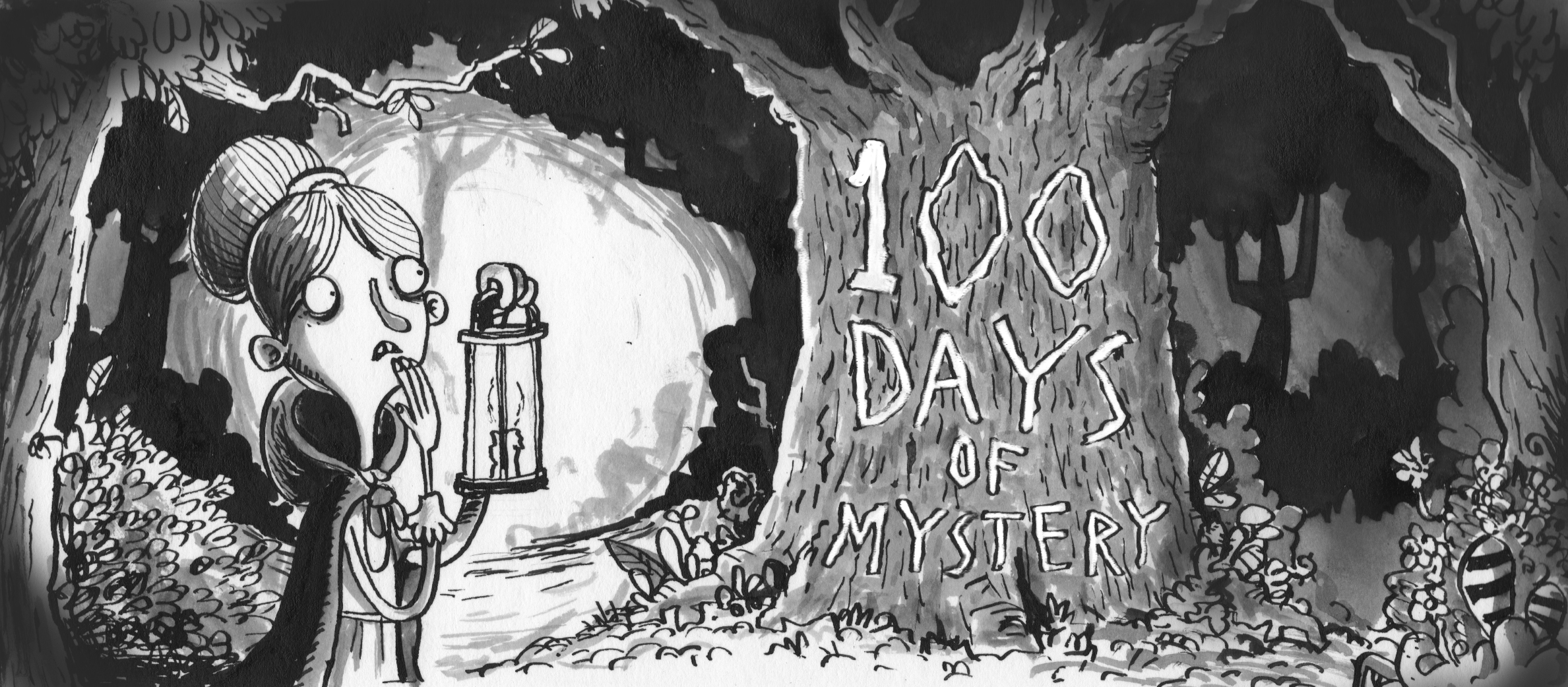 100 Days of Mystery Artbook