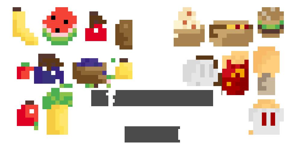 Perfect Pixel Fruit 2d Assets [FREE]