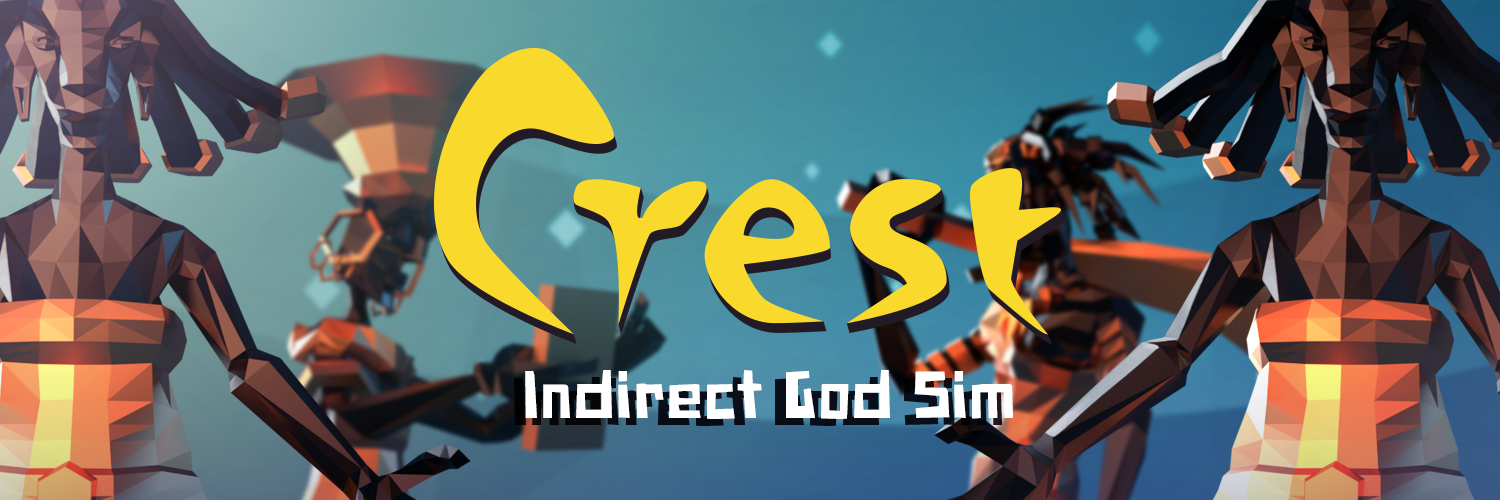 Crest - an indirect god game